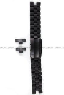 Bransoleta stalowa do zegarka Vostok Lunokhod - 25 mm - czarna