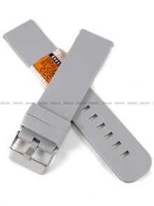 Pasek silikonowy Diloy do zegarka - SBR40.22.7 - 22 mm