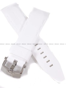 Pasek silikonowy do zegarka Vostok Lunokhod YM86-620A636 - 25 mm