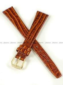 Pasek zaczepowy klejony skórzany do zegarka - K.Reda.3.14.3 - 14 mm