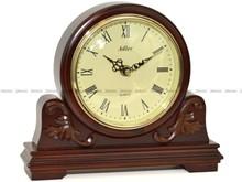 Zegar kominkowy Adler 22131-W drewniany, odcień orzech