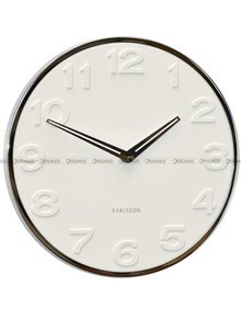 Zegar ścienny Karlsson New Original Number KA5759WH 30 cm