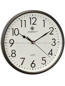Zegar ścienny Perfect FX-5742 Grafit - 26 cm