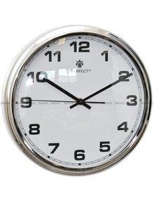 Zegar ścienny Perfect FX-631AK Srebrny - 30 cm