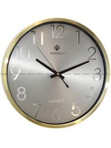 Zegar ścienny Perfect PW267-1700-5-Gold - 36 cm