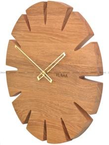 Zegar ścienny Vlaha Original VCT1030 - Z litego drewna dębowego