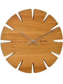 Zegar ścienny Vlaha Original VCT1031 - Z litego drewna dębowego
