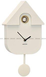 Zegar z kukułką Karlsson Modern Cuckoo KA5768WH 41x22 cm