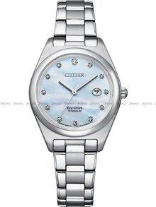 Zegarek Damski Citizen Eco-Drive Titanium EW2600-83D