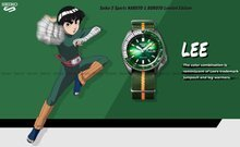 Zegarek Męski Seiko 5 Sports NARUTO & BORUTO - ROCK LEE SRPF73K1 - Limitowana edycja