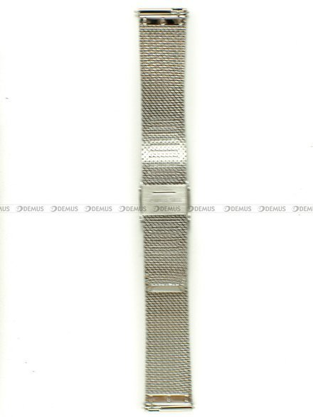 Bransoleta do zegarka Bisset - BBSR.63.18-SR-G - 18 mm