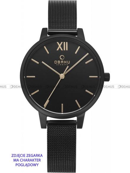 Bransoleta do zegarków Obaku V209L - V209LXBBMB - 12 mm