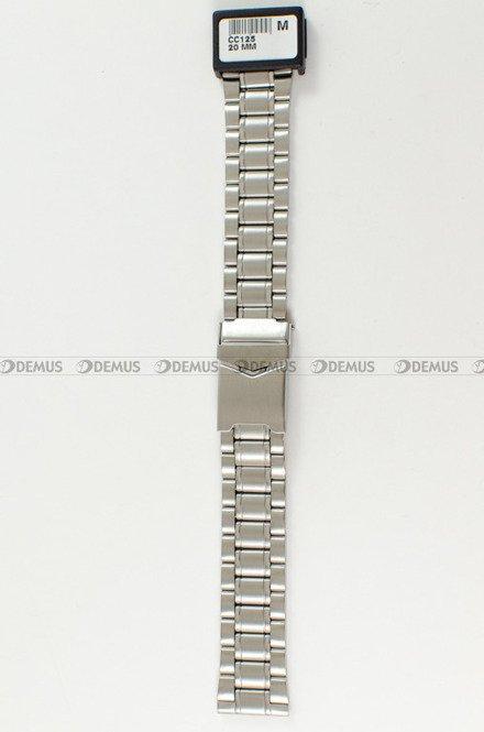 Bransoleta stalowa do zegarka Condor CC125 - 20mm