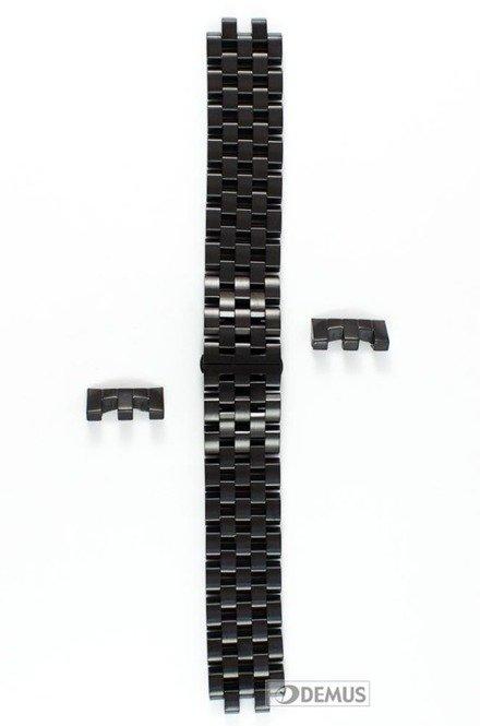 Bransoleta stalowa do zegarka Vostok Gaz-14 Limousine Black - 23 mm