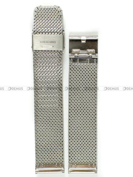 Bransoleta stalowa mesh do zegarka - Bra7 - 20 mm