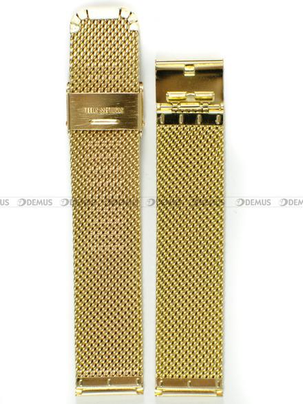 Bransoleta stalowa mesh do zegarka - Bra8 - 20 mm