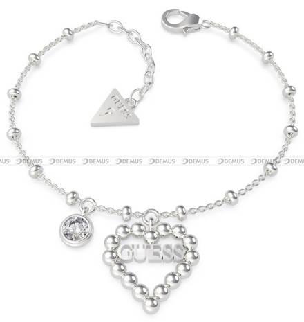 Bransoletka Guess - Heart Romance UBB70089-S