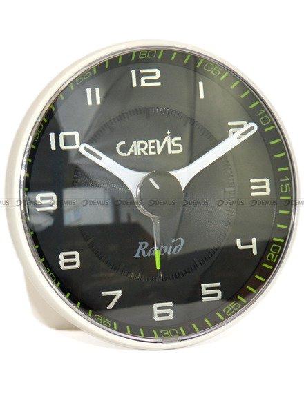 Budzik wskazówkowy Carevis C08-WHBK