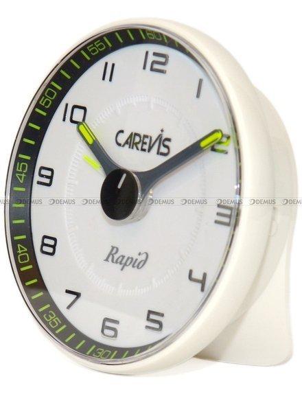 Budzik wskazówkowy Carevis C08-WHWH