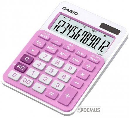 Kalkulator biurowy Casio MS-20NC-PK-S