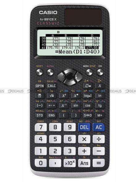 Kalkulator naukowy Casio ClassWiz FX-991CEX