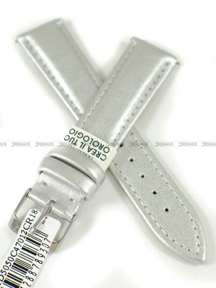 Pasek Green Collection do zegarka - Morellato A01D5050C47012CR18 - 18 mm