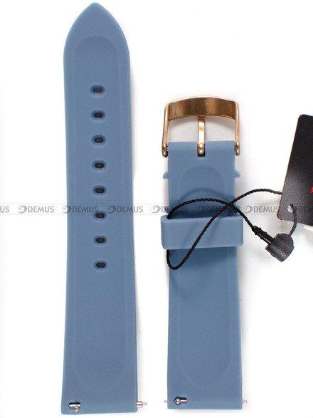 Pasek silikonowy do zegarka Vostok Europe Undine VK64-515B527- 20 mm