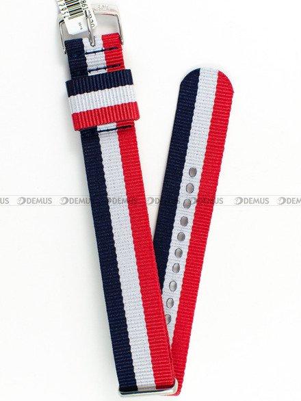 Pasek bawełniany do zegarka - Morellato A01X4737A74861 - 20 mm