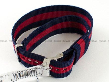 Pasek bawełniany do zegarka - Morellato A01X4737A74882 - 20 mm