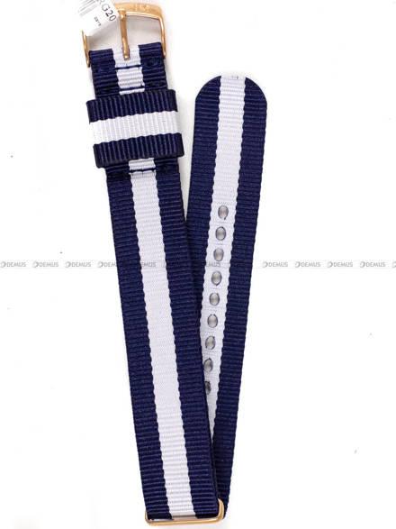 Pasek bawełniany do zegarka - Morellato A01X4737A74916RG.20 - 20 mm