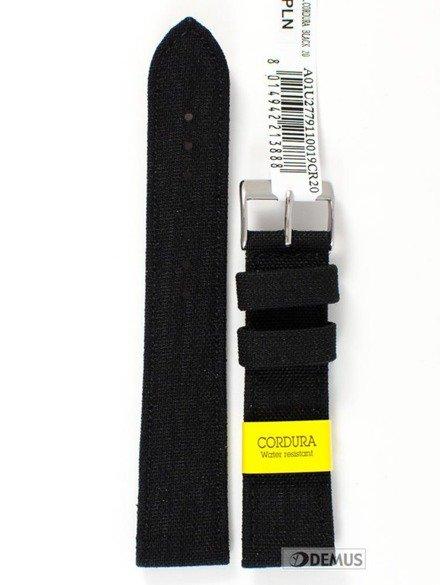 Pasek do zegarka skórzano-nylonowy - Morellato A01U2779110019 20 mm