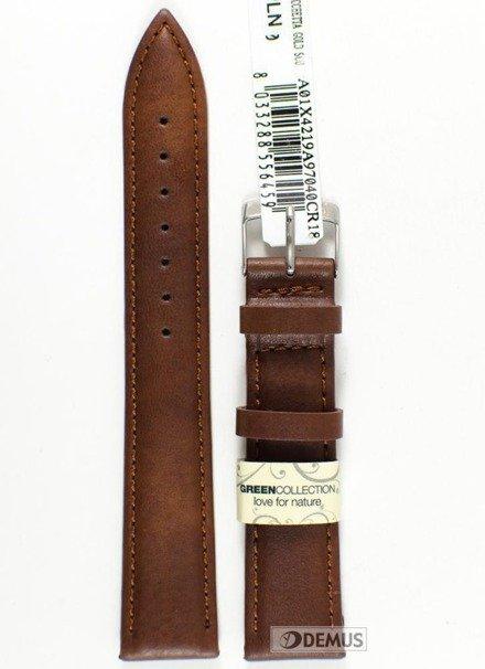 Pasek do zegarka skórzany - Morellato A01X4219A97040 18 mm
