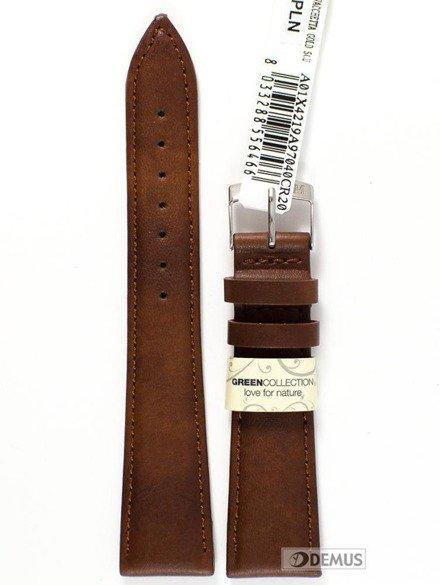 Pasek do zegarka skórzany - Morellato A01X4219A97040 20 mm