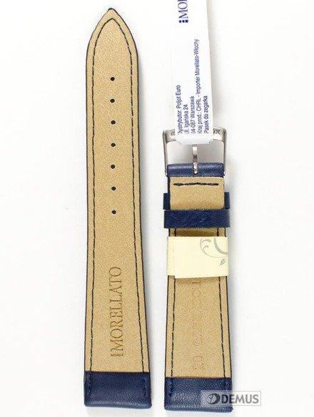 Pasek do zegarka skórzany - Morellato A01X4219A97062 20 mm