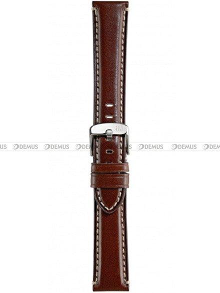 Pasek do zegarka skórzany - Morellato A01X4272B12034 20 mm