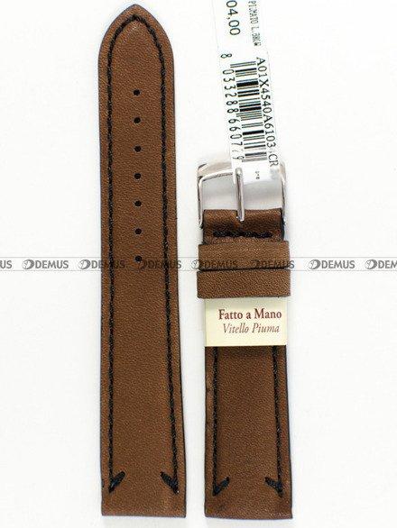 Pasek do zegarka skórzany - Morellato A01X4540A61034 - 18 mm
