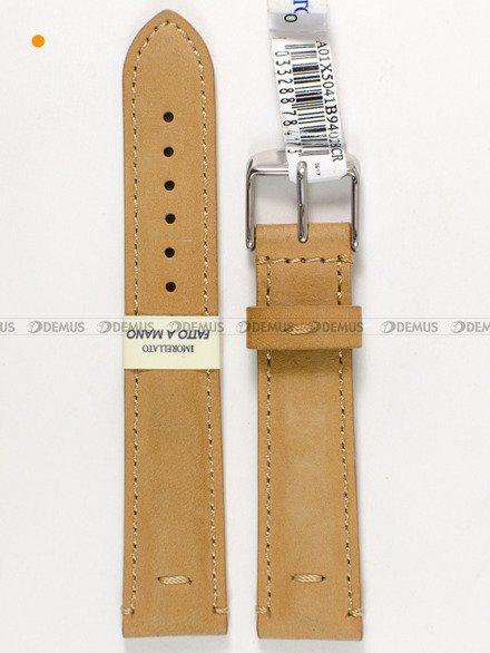 Pasek do zegarka skórzany - Morellato A01X5041B94028CR18 - 18 mm