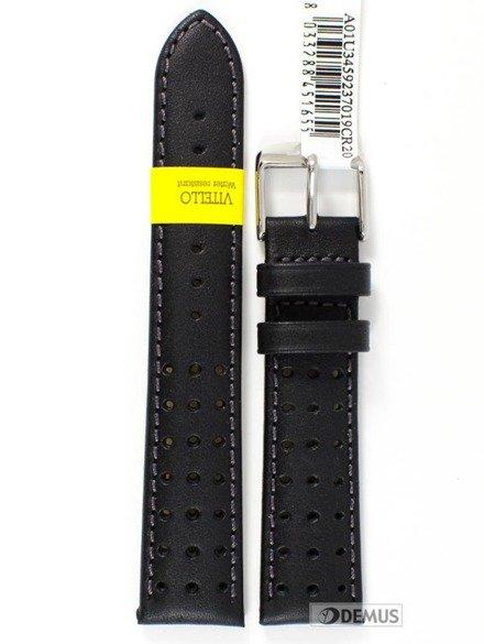 Pasek do zegarka skórzany wodoodporny - Morellato A01U3459237019 20 mm