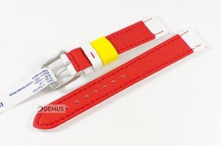 Pasek do zegarka skórzany wodoodporny - Morellato A01X4334A11883 18mm