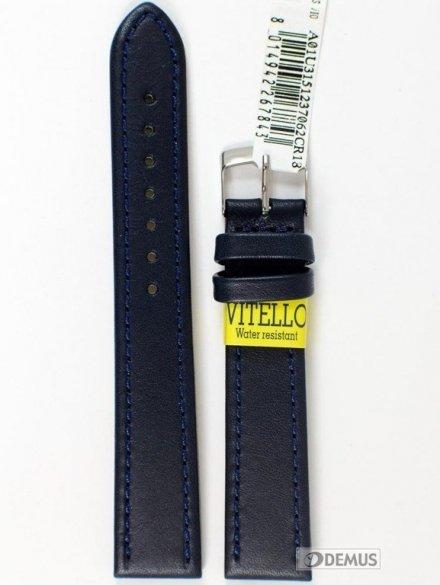 Pasek do zegarka wodoodporny skórzany - Morellato A01U3151237062 18mm