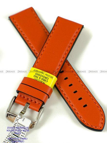 Pasek do zegarka wodoodporny skórzany - Morellato A01X5123C03084CR20 - 20 mm