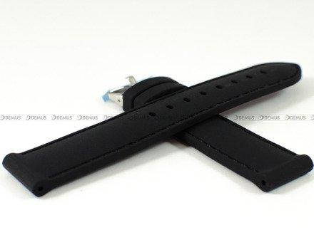 Pasek gumowy do zegarka JVD PG1.20MM.1.1