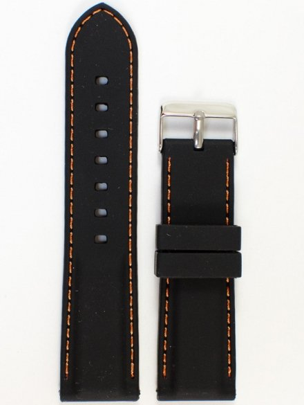 Pasek gumowy do zegarka JVD PG1.22MM.1.5