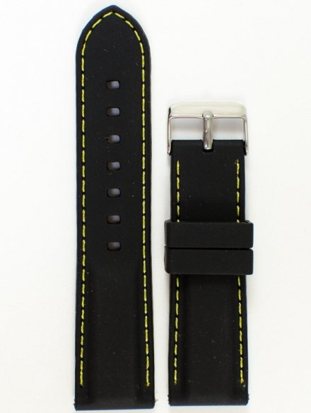 Pasek gumowy do zegarka JVD PG1.24MM.1.9