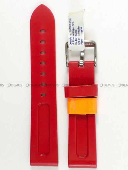 Pasek gumowy do zegarka - Morellato A01U2859198083 20mm