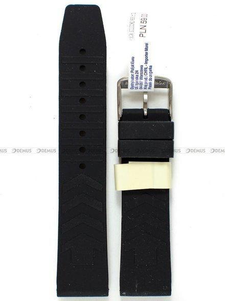 Pasek gumowy do zegarka - Morellato A01U4254187019CR22 - 22 mm