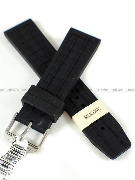 Pasek gumowy do zegarka - Morellato A01U4254187019CR24 - 24 mm