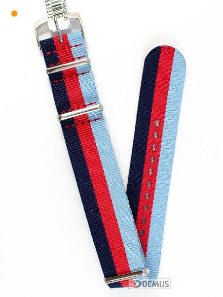 Pasek nylonowy do zegarka - Morellato A01U3972A74868 18 mm