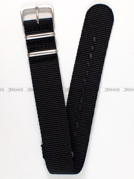 Pasek nylonowy do zegarka - Nato PND1.22.1 - 22 mm