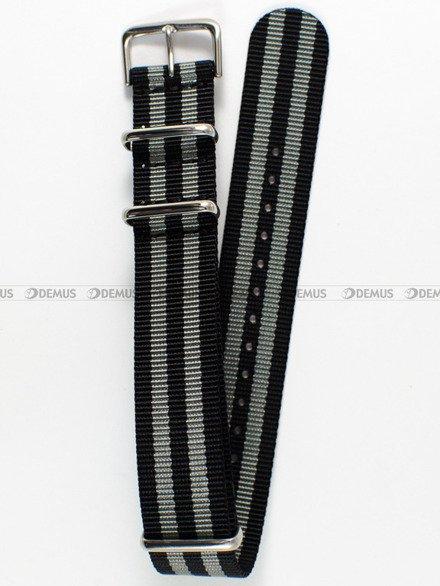 Pasek nylonowy do zegarka - Nato PNN1.20.1.11 - 20 mm
